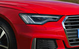Audi A6 2019 road test review - headlights