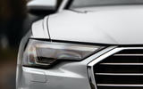 Audi A6 Avant 2018 road test review - headlights