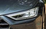 Audi A7 Sportback 2018 road test review headlights