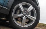 Audi E-tron 55 Quattro 2019 road test review - alloy wheels
