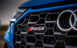Audi RS Q3 Sportback 2020 road test review - RS badge front