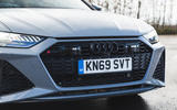 Audi RS6 Avant 2020 road test review - front grille