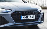 Audi RS6 Avant 2020 road test review - front grille