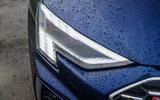 Audi S3 Sportback 2020 road test review - headlights