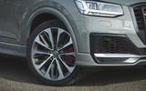Audi SQ2 2019 road test review - front bumper