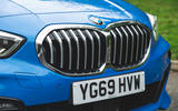 BMW 1 Series 118i 2019 road test review - kidney grille