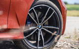 BMW 3 Series 330e 2020 road test review - alloy wheels
