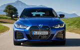 4 BMW i4 M50 2021 first drive review tracking nose