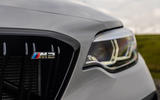BMW M2 CS 2020 road test review - front badge