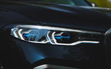 BMW X7 2020 road test review - headlights