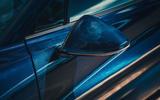 Bugatti Divo 2020 road test review - wing mirror