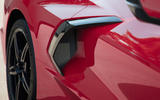 Corvette Stingray C8 2019 road test review - air intake