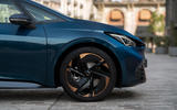 4 Cupra Born 2021 first drive review alloy wheels