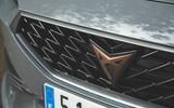 Cupra Leon 2020 road test review - nose badge