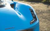 Dallara Stradale 2019 road test review - headlights