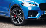 Jaguar F-Pace SVR 2019 road test review - alloy wheels
