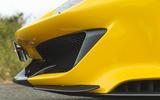 Ferrari 488 Pista 2019 road test review - front bumper