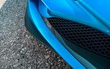 Ferrari F8 Tributo 2019 road test review - front bumper