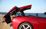 Ferrari Portofino review power roof
