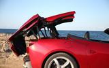Ferrari Portofino review power roof