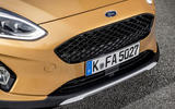 Ford Fiesta Active 2018 road test review front grille
