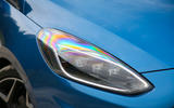Ford Fiesta ST 2018 road test review headlights