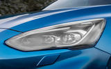 Ford Focus ST 2019 review - headlights