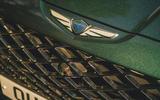 4 Genesis GV80 2021 road test review nose badge