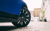 Honda e 2020 road test review - alloy wheels