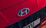 Hyundai i10 2020 road test review - nose badge