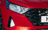4 Hyundai i20 2021 road test review headlights