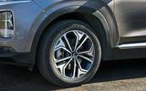 Hyundai Santa Fe 2019 road test review - alloy wheels