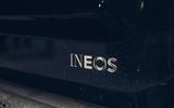 4 Ineos Grenadier 2021 prototype drive rear badge