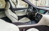 Infiniti QX50 2018 review - interior
