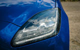 Jaguar E-Pace review headlights