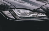 Jaguar XF Sportbrake 2019 road test review - headlights