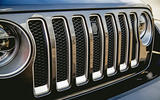 Jeep Wrangler 2019 road test review - front grille