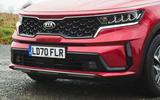 4 Kia Sorento 2021 road test review nose