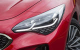 Kia Stinger GT line 2018 review headlights