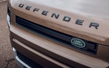 Land Rover Defender 2020 road test review - front grille