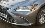 Lexus ES 2019 road test review - headlights