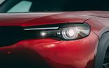 4 Mazda MX 30 2021 road test review headlights