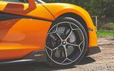 McLaren 600LT Spider 2019 road test review - alloy wheels