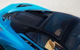 McLaren 720S Spider 2019 road test review - roof
