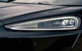 4 McLaren GT 2021 road test review headlights