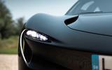 McLaren Speedtail 2020 UK first drive review - headlights