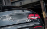 Mercedes-AMG C43 Coupe 2018 road test review boot