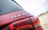 Mercedes-AMG GLB 35 2020 road test review - rear badge