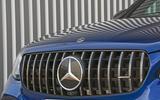Mercedes-AMG GLC 63 S road test review bonnet badge