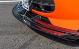 Mercedes-AMG GT Black Series road test review - front splitter